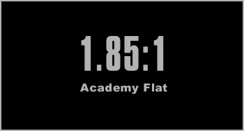 1.85:1 academy flat aspect ratio