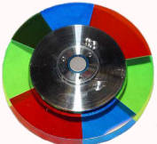 Glass DLP color wheel